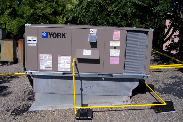 Package Unit Rooftop Carrier Trane York Hvac Air Share